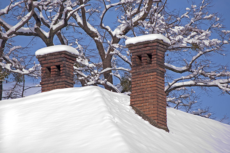 Blue Sky Chimney Sweeps Explains How Cold Weather Damages the Chimney