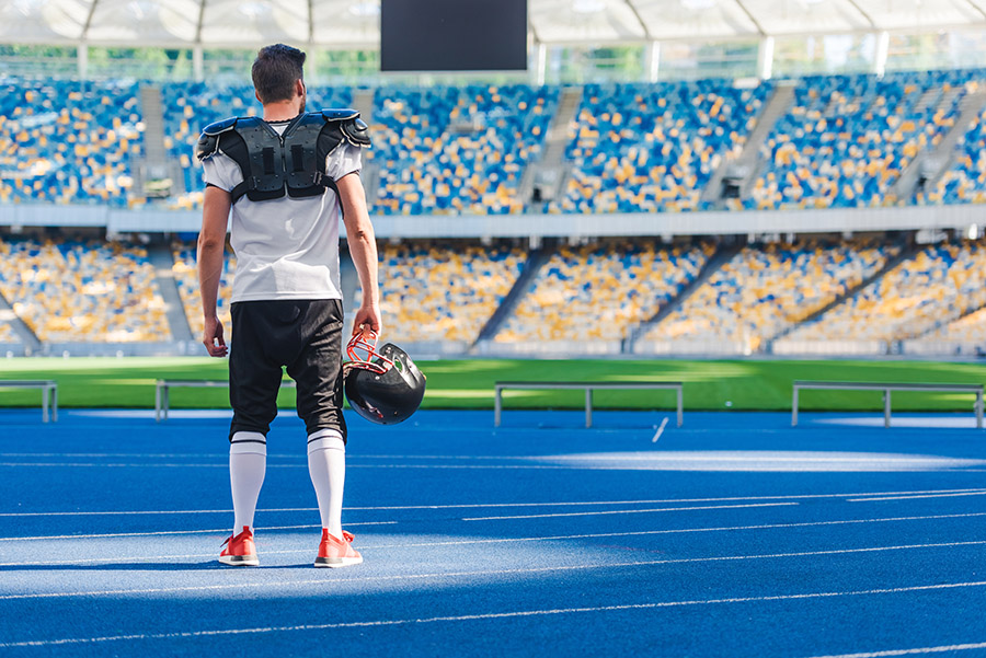 College Football Player Saves his Scholarship with Nutrition Response Testing®